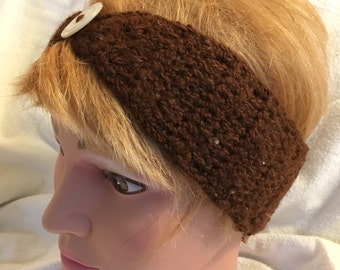 Crocheted Alpaca Headband