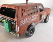 Scale Model Car,Rusted Wreck,Classicwrecks,Vampire,Post Apocalypse,Model Truck