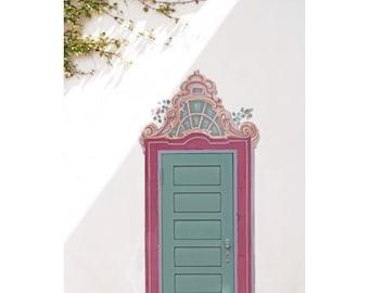 Enchanted fairy door etsy for Fairy door wall art