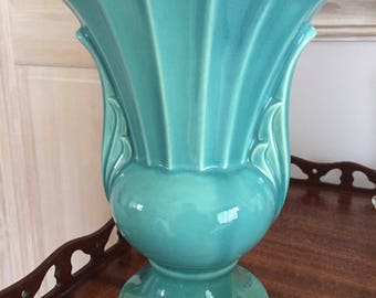 Most Lovely Turquoise Ceramic Vase