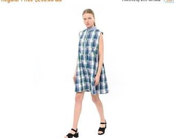 Cotton dress, Fits all, Summer 2016 dress,  Sleeveless dress, cool dress, timeless dress