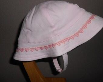 NEW ITEM! - Pink Baby Sun Hat