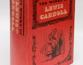 Alice in Wonderland | Illustrated Classic Books: The Works of Lewis Carroll [1968] | Looking Glass Best Loved Childrens Stories Chesire Cat