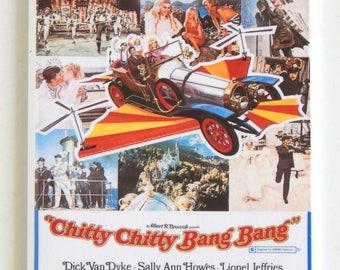 Chitty Chitty Bang Bang Movie Poster Fridge Magnet