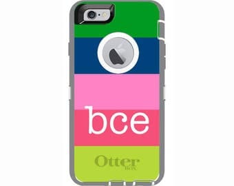 iPhone 6 & iPhone 6s Candy Stripes Otterbox Defender Phone Case