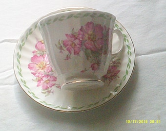 August Tea Cup and Saucer