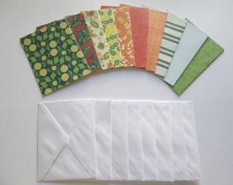 DESTASH - Blank cards w/ envelopes