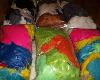 Luxury Shag Fur Grab Bags