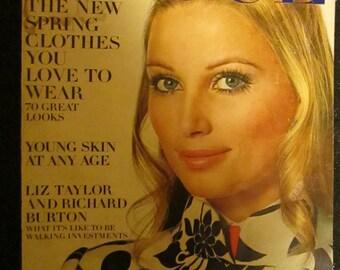February 1969 VOGUE Fashion MAGAZINE