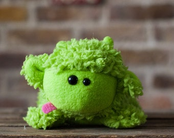 Green Sheep - Sheep Plush