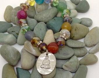 Chakra Meditation Bracelet with Buddha