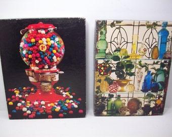 Vintage Springbok Jigsaw Puzzle (2) Complete Classic Elegance & Gumball Machine 500 PCS