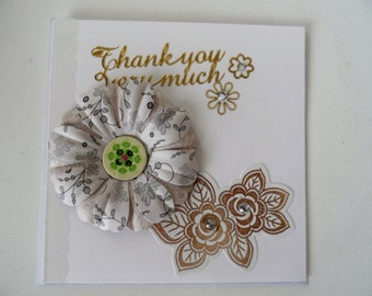 Thank you Card - Handmade Cards - Any occasion cards - Made in Australia - unique cards - Hand made - Thankyou