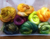 Hope Jacare - Sparkle pack - Mix of different hand dyed sparkly fibres - Sparkle 23
