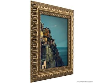 "Craig Frames, 16x20 Inch Antique Bronze Picture Frame, Bravada Ornate, 2"" Wide (212479061620)"