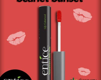 Entice Scarlet Sunset Lip Stain