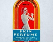 1936 Valmor Ethnic Beauty Product Unused Label New Old Stock Black Americana Litho Graphics By Black Artist Charles Dawson
