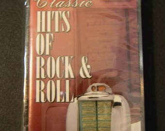 Unopened Vintage cassette, Classic Hits of Rock & Roll