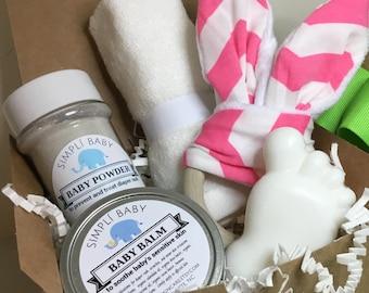 Baby Shower Gift Basket New Baby Gift For Baby Girl Gift Baby Boy Gift Set  New