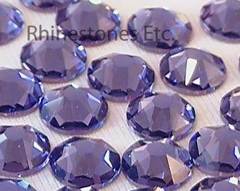 Tanzanite 34ss Swarovski Elements Rhinestones Flat back 8 pieces