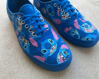 Custom Hand Painted Shoes - Stitch All Over