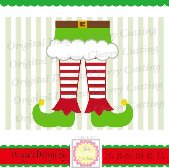 Elf Shoes Svg File