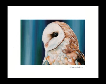 Wind Glider matted print by Alcia Wishart