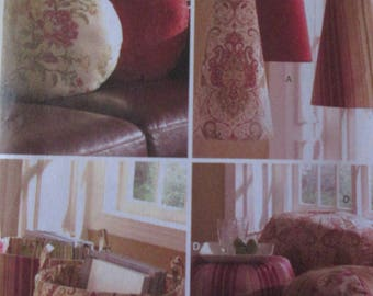 Butterick Pattern 5230 Waverly Room Accessories