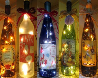 Lighted Bottle Mother's Day 2017