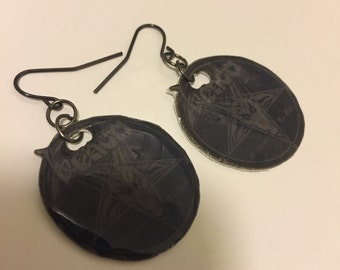 Venom Welcome To Hell Earrings