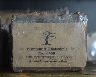 Extra Moisturizing Goats Milk and Honey Soap