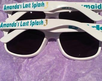 Personalized sunglasses Mermaid Theme
