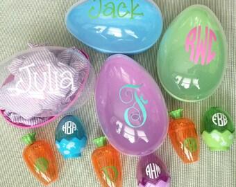 Easter egg - monogrammed personalized easter egg - easter basket - big easter egg