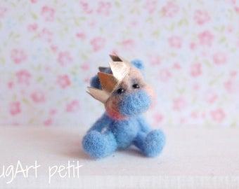 Prince, a tiny OOAK artist bear.