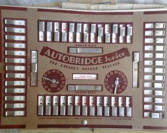Vintage Autobridge Junior 1940s Great Display Piece Steampunk Look