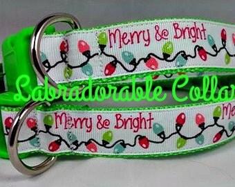Christmas Dog Collar Christmas Lights Dog Collar