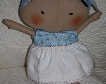 Doll Handmade from Tilda Toy Box Collection