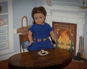 Modern Sushi  lunch Accessories for American Girl Doll Mini, Barbie, BJD Tuna, Chopsticks, Sushi Rolls, Wasabi