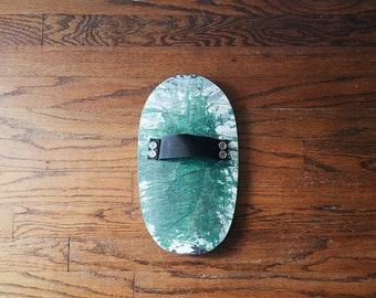 Body Surfing Hand Plane - diStasio - Shaped From Reclaimed Skateboard