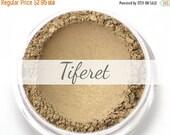 """On Sale - Eyeshadow Sample - """"Tiferet"""" - golden taupe with shimmer (Vegan) Mineral Makeup Eye Color Pigment"""