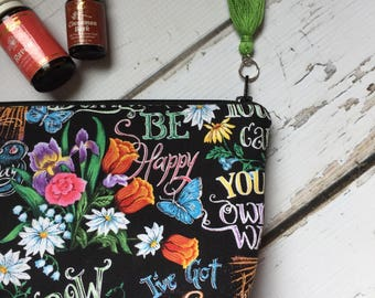 Ready to ship New Essential Oil bag, travel case, zipper bags Inspirational (12-14)