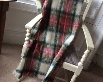 Vintage mohair shawl or wrap