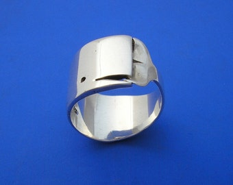 Silver Whale Ring , Hand Made Solid Silver Jewelery