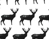 Flannel Deer Fabric 1 yard