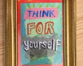 Think painting