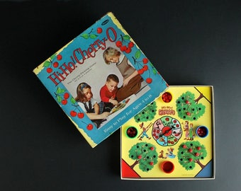 Vintage Hi-Ho Cherry-O Board Game The Cherry Picking Game Child Development Ages 4 to 8 Complete Game