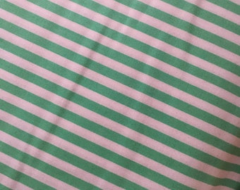Spearmint Mint Stripe Fabric