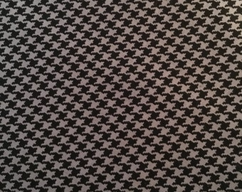 Michael Miller Charcoal Tiny Houndstooth