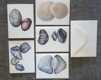 Nizina Rocks - Set of 5 Blank Greeting Cards