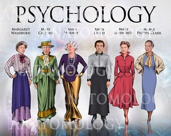 Large Women in Psychology Poster